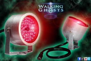 48 LED Light IR Infrared Night Vision Lamp Light Ghost Hunt Paranormal CCTV /UK